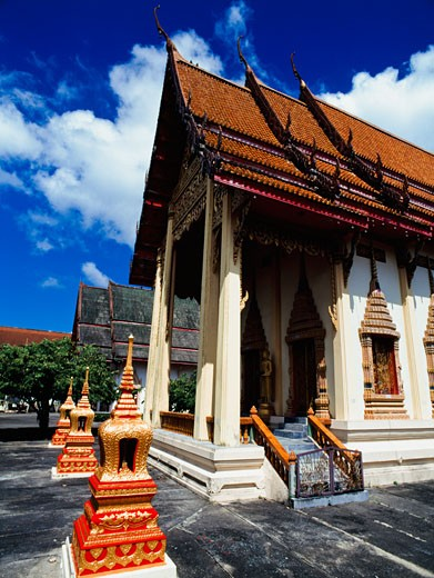 Wat Phra Thong temple, Phuket, Thailand. : Stock Photo