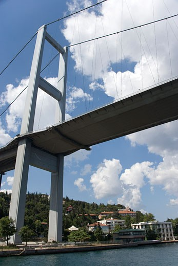 Stock Photo: 1783-22429 Ataturk Bridge, Istanbul, Turkey..