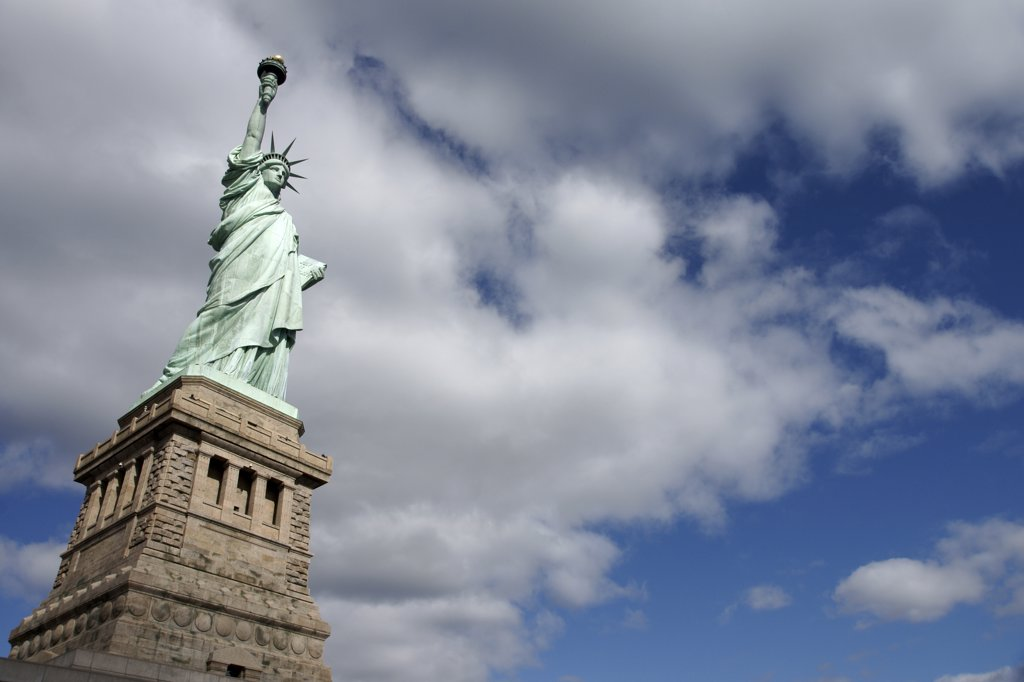 Statue of Liberty, Liberty Island, New York City, USA. : Stock Photo
