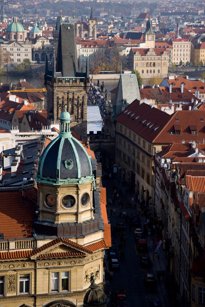 Prague, Czech Republic : Stock Photo