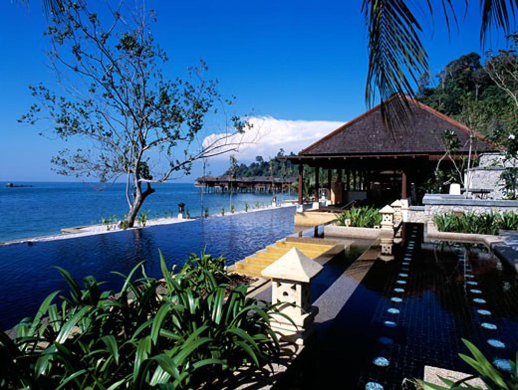 Stock Photo: 1783-2572 The Spa Village, Pankor Laut, Malaysia