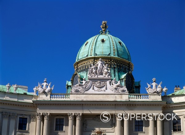 Stock Photo: 1783-25879 Hofburg Complex, Austria, Vienna