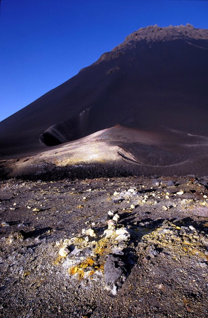 Stock Photo: 1783-26599 Crater Fogo, Cape Verde