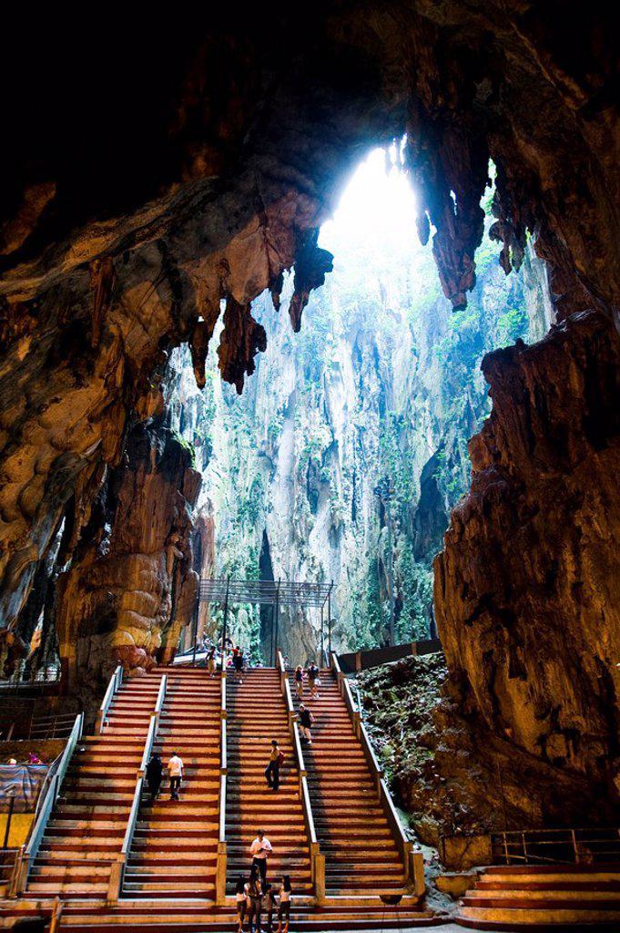 Batu Caves, Selangor, Malaysia : Stock Photo