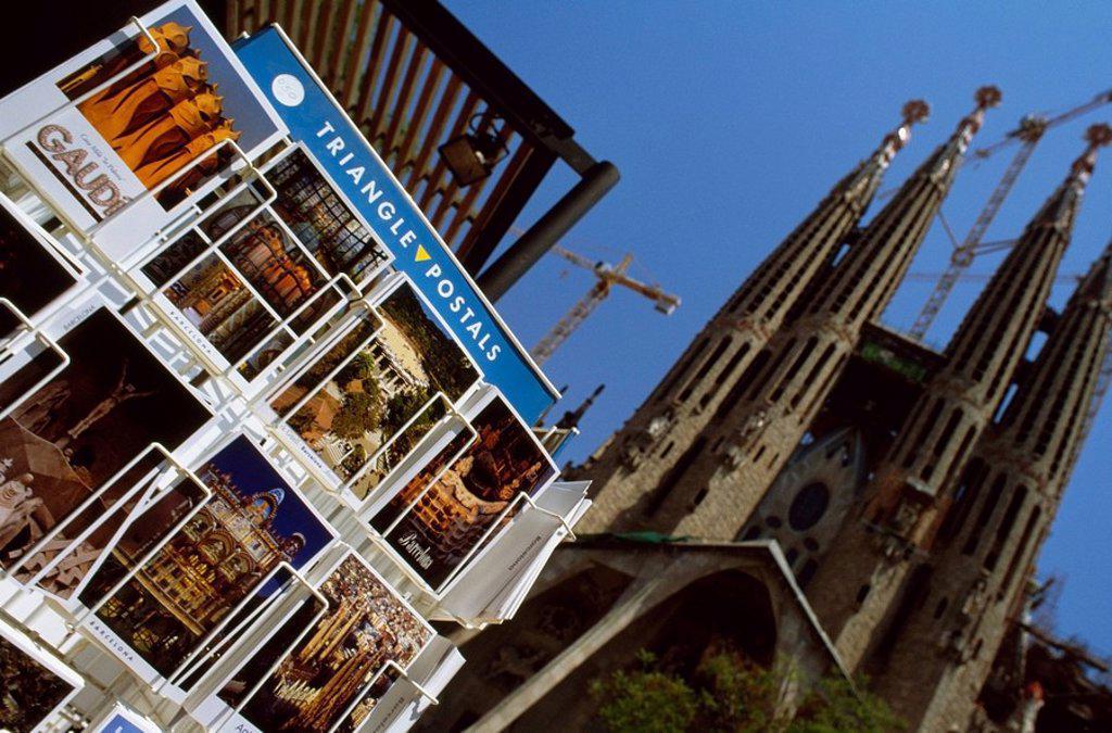 Sangrada Falilia Church, Barcelona, Spain : Stock Photo