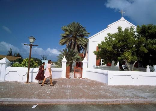 Cockburn Town, Grand Turk, Turks and Caicos Islands : Stock Photo