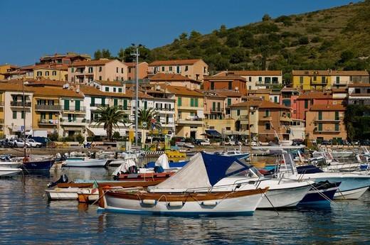 Portobello HarbourTuscany, Italy. Portobello Harbour : Stock Photo