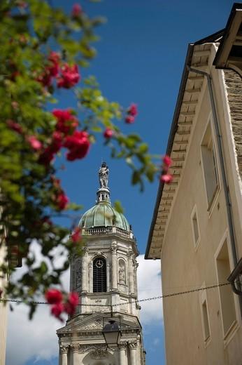 Saint Melaine next to Le Thabor ParkRennes. Brittany. France. Saint Melaine next to Le Thabor Park : Stock Photo