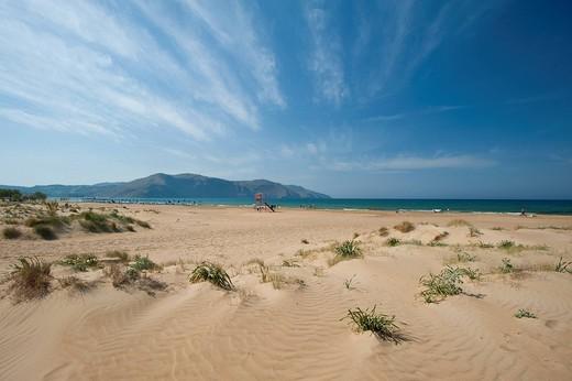 Dunes at Georgiopoli BeachGeorgioupoli, Crete, Greece. Dunes at Georgiopoli Beach : Stock Photo