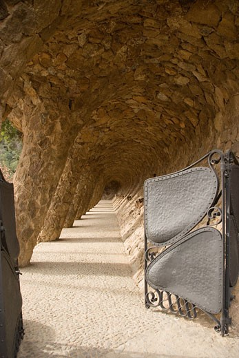 Stock Photo: 1783-5275 Park Guell, Barcelona,Spain