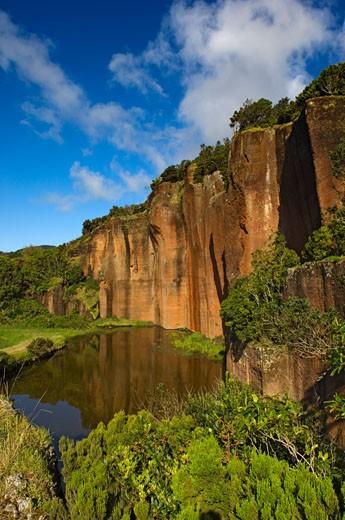 Poco da Pedreira,  Santa Maria Island, Azores, Portugal : Stock Photo