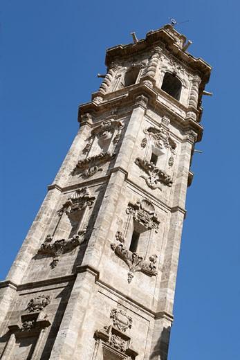 Spire of Santa Catalina Church,  Valencia, Spain : Stock Photo