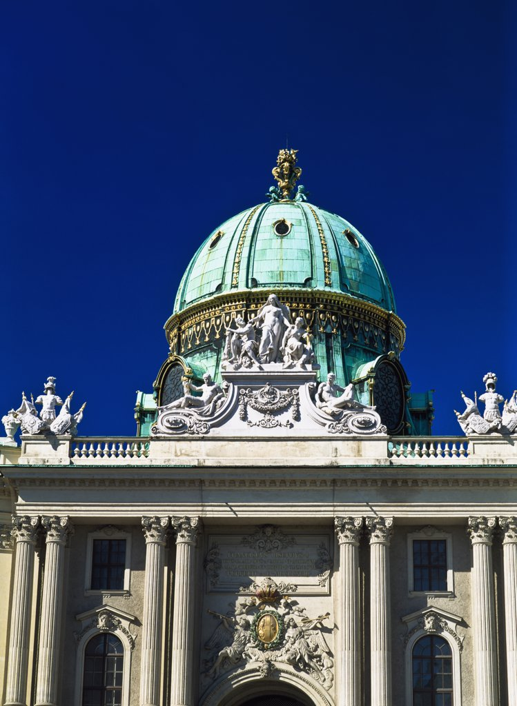 Stock Photo: 1783-8876 Hofburg Complex, Vienna, Austria.