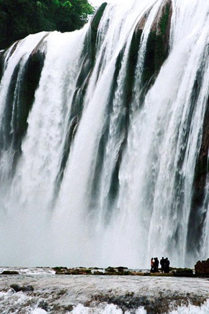 Huangguoshu waterfall, Anshun City, Guizhou Province of People's Republic of China : Stock Photo