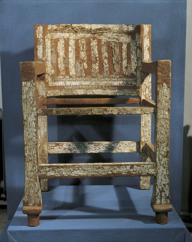 Stock Photo: 1788-1096 Phoenicians - Throne of Salamis