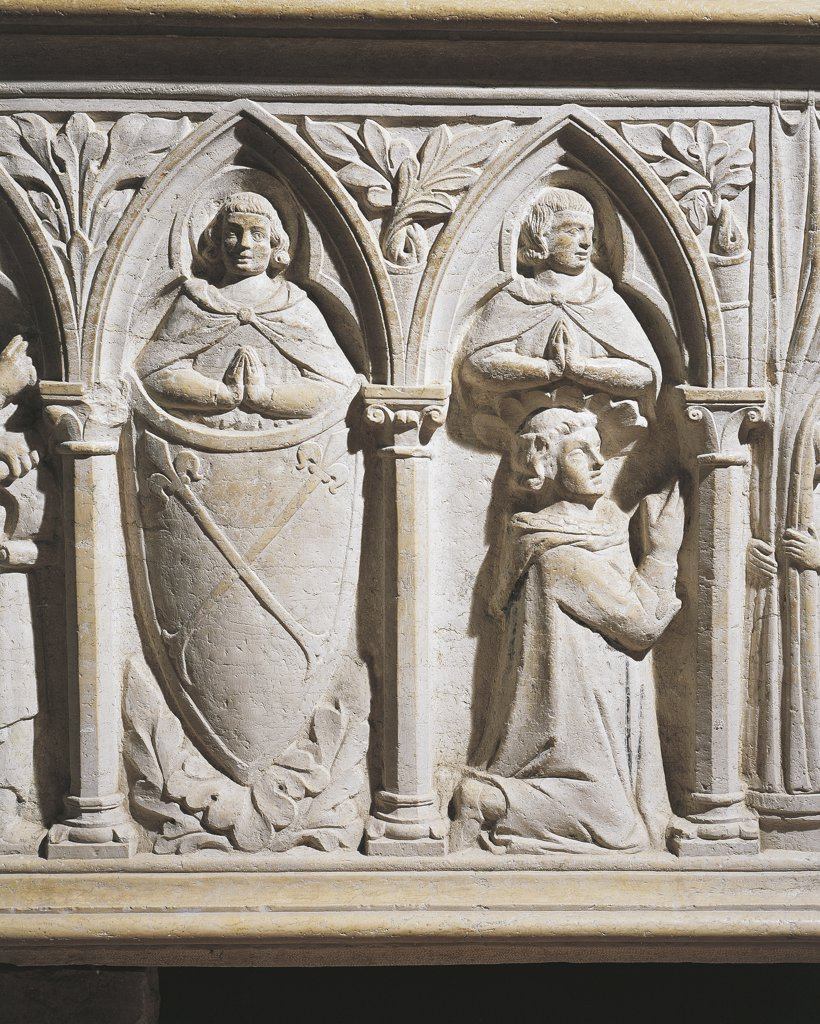 Italy - Friuli Venezia Giulia Region - Aquileia - Cathedral - Sarcophagus - Detail : Stock Photo