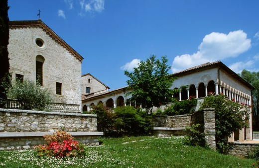 Stock Photo: 1788-12041 Italy, Veneto, Province of Treviso, Follina, Cistercian Abbey of Santa Maria
