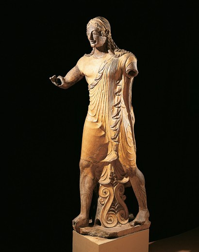 Stock Photo: 1788-14486 Statue of Apollo of Veio