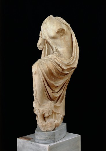 Stock Photo: 1788-15809 Headless statue of goddess Hygieia from Epidaurus, Greece