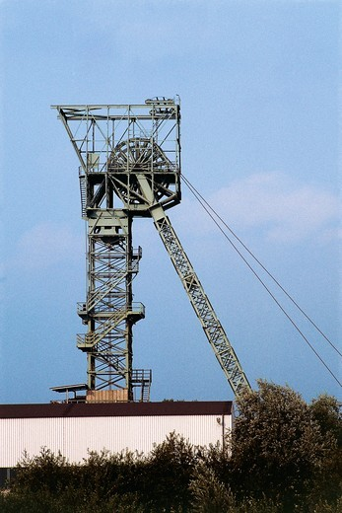 Stock Photo: 1788-16330 Germany, Bochum, Malakow tower of Zeche Julius Philip