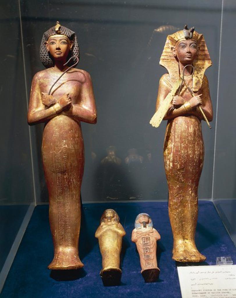 Stock Photo: 1788-18725 Tomb of Tutankhamen, Treasure of Tutankhamen