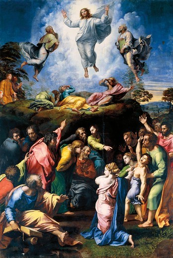 Stock Photo: 1788-20505 Italy, Rome, Transfiguration of Jesus