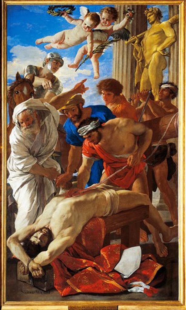 Stock Photo: 1788-20508 Italy, Rome, Martyrdom of Saint Erasmus