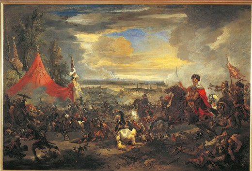 Stock Photo: 1788-20637 Austria, Vienna, Turks besiege Vienna, oil on canvas