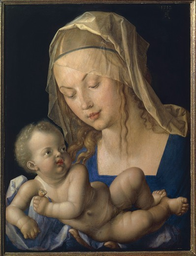 Austria, Vienna, Madonna and Child, 1512 : Stock Photo