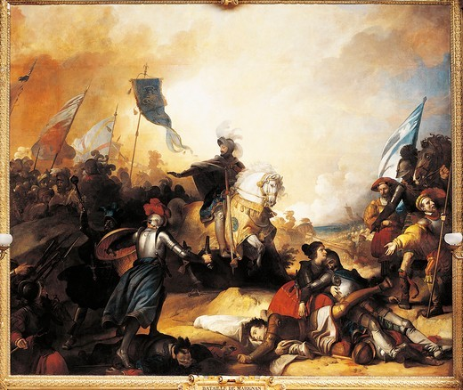 Stock Photo: 1788-20992 France, Versailles, The Battle of Marignan