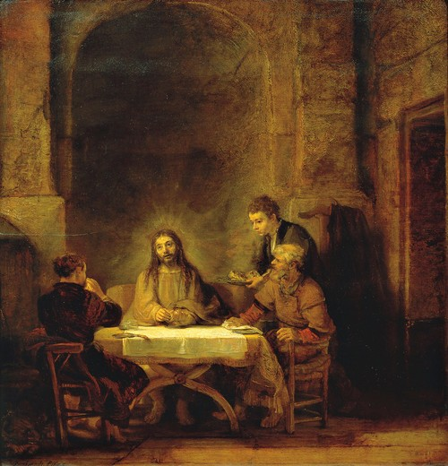 Stock Photo: 1788-21159 France, Paris, Supper at Emmaus