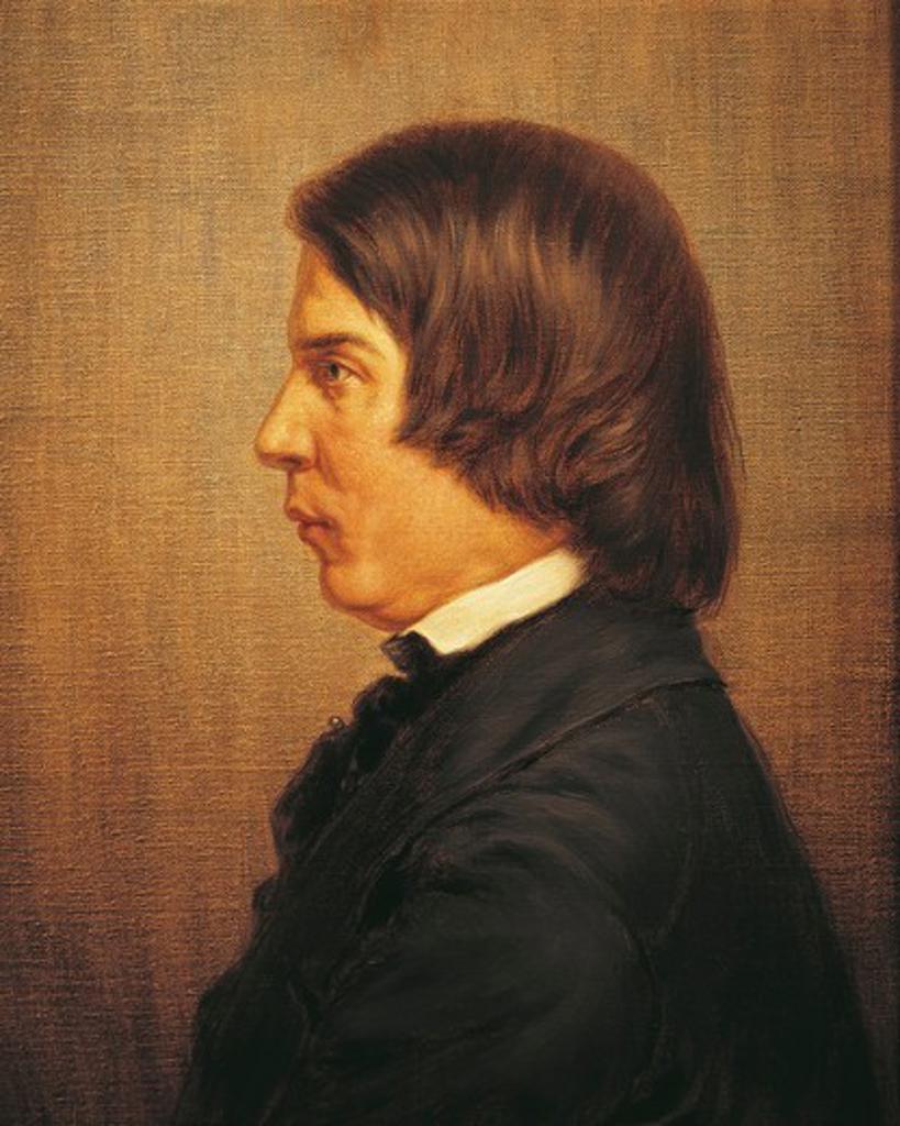 Stock Photo: 1788-21295 Germany, Portrait of German composer and music critic Robert Alexander Schumann (1810 - 1856)