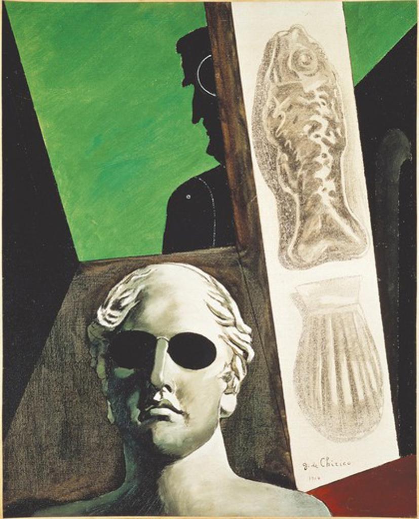 France, Paris, Portrait of Guillaume Apollinaire : Stock Photo