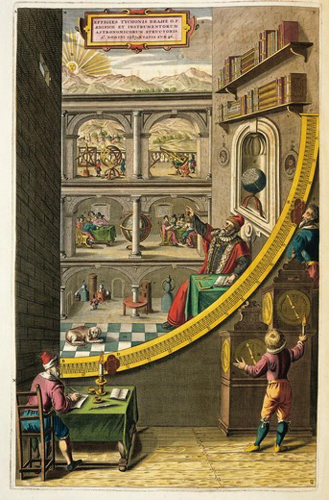 Stock Photo: 1788-21678 Netherlands, Rotterdam, Tycho Brahe's observatory