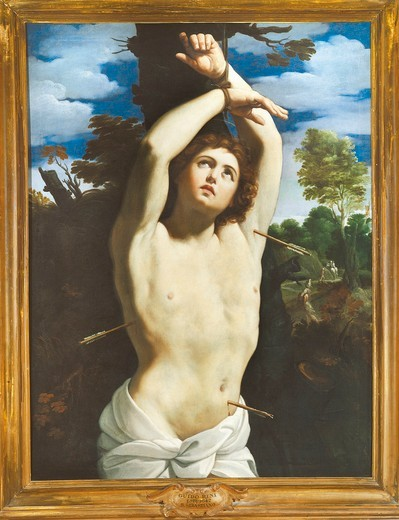 Stock Photo: 1788-21725 Italy, Rome, Portrait of Saint Sebastian