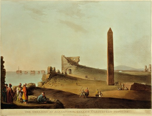 Stock Photo: 1788-21847 France, Paris, Cleopatra's Needle in Alexandria