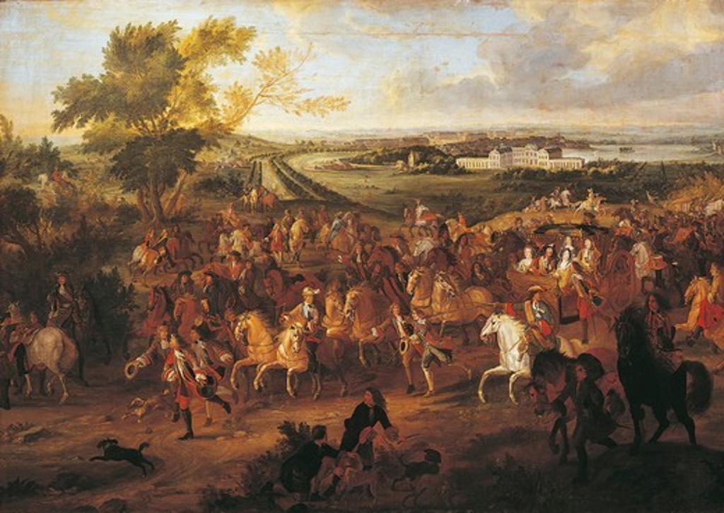 Stock Photo: 1788-21862 France, Arras, The Royal Parade of Louis XIV