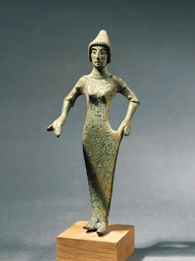 Stock Photo: 1788-22401 Young woman, bronze