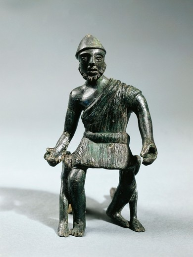 Stock Photo: 1788-22798 Statuette representing Hephaestus, bronze