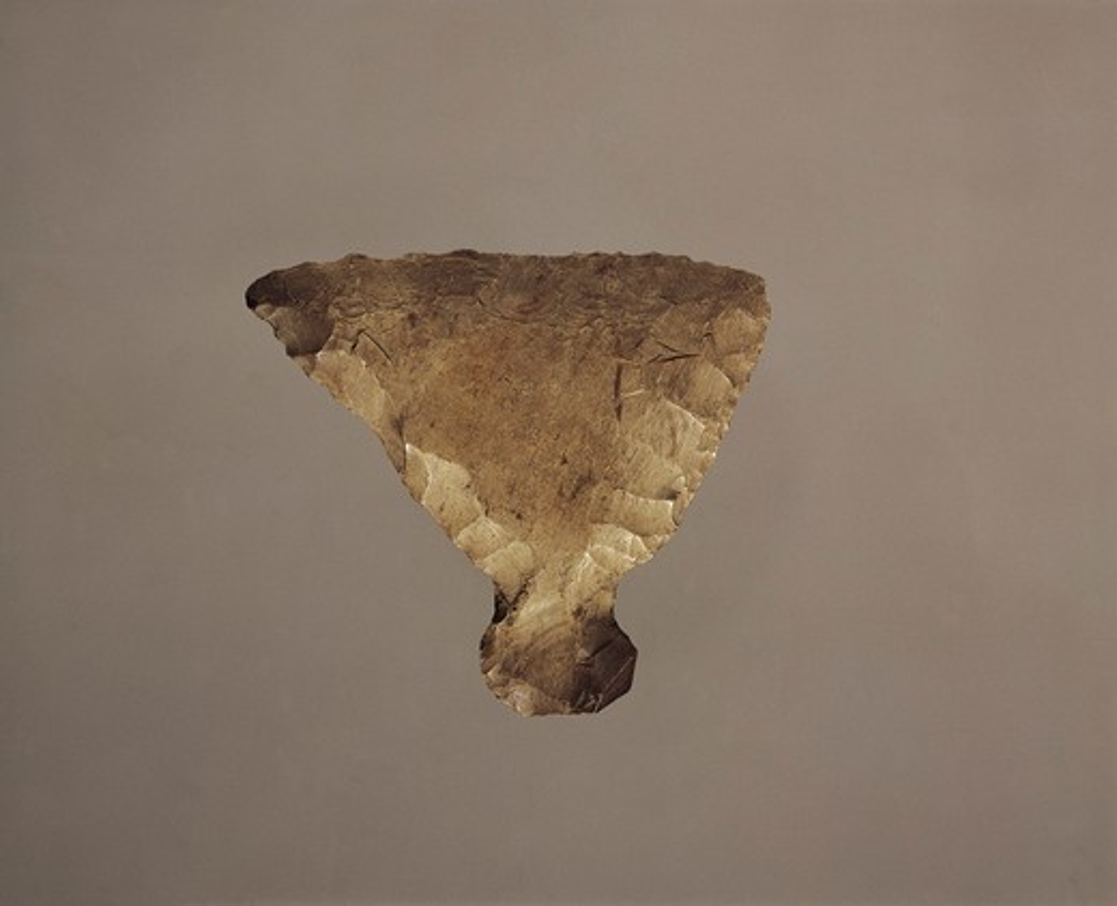 Italy, Rome, Museo Nazionale d'Arte Orientale, Scraper from Akita : Stock Photo
