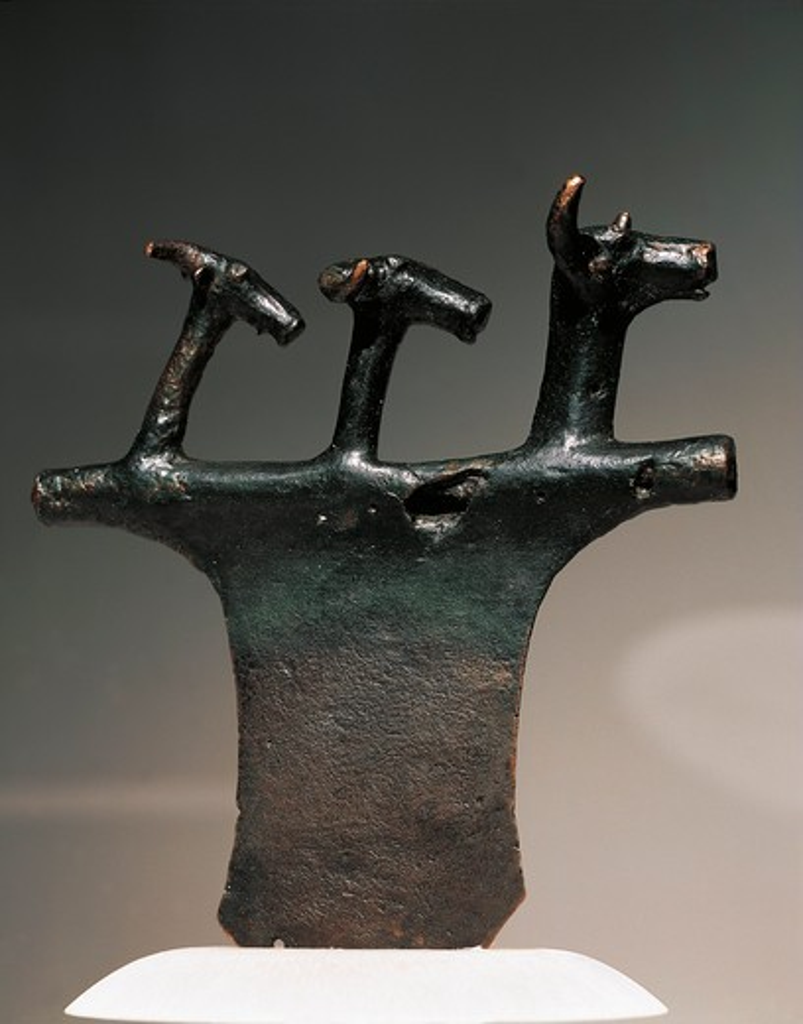 Bulgaria, Lovec, Teteven, Ritual axe, bronze : Stock Photo