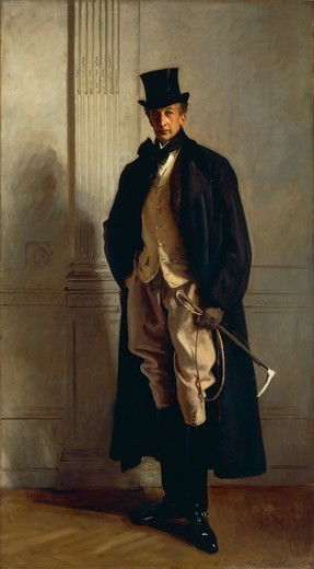 Stock Photo: 1788-28405 John Singer Sargent (1856-1925), Lord Riddlesdale, 1902, oil on canvas, 258x143 cm.