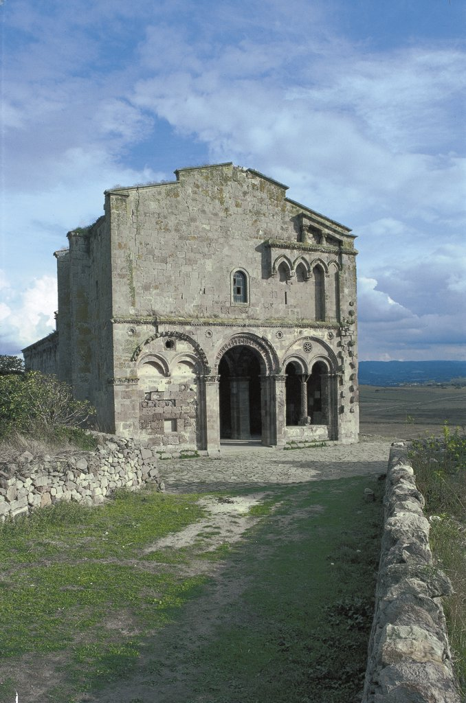 Stock Photo: 1788-3174 Italy - Sardinia Region - Ozieri - Church of Sant'Antioco of Bisarcio