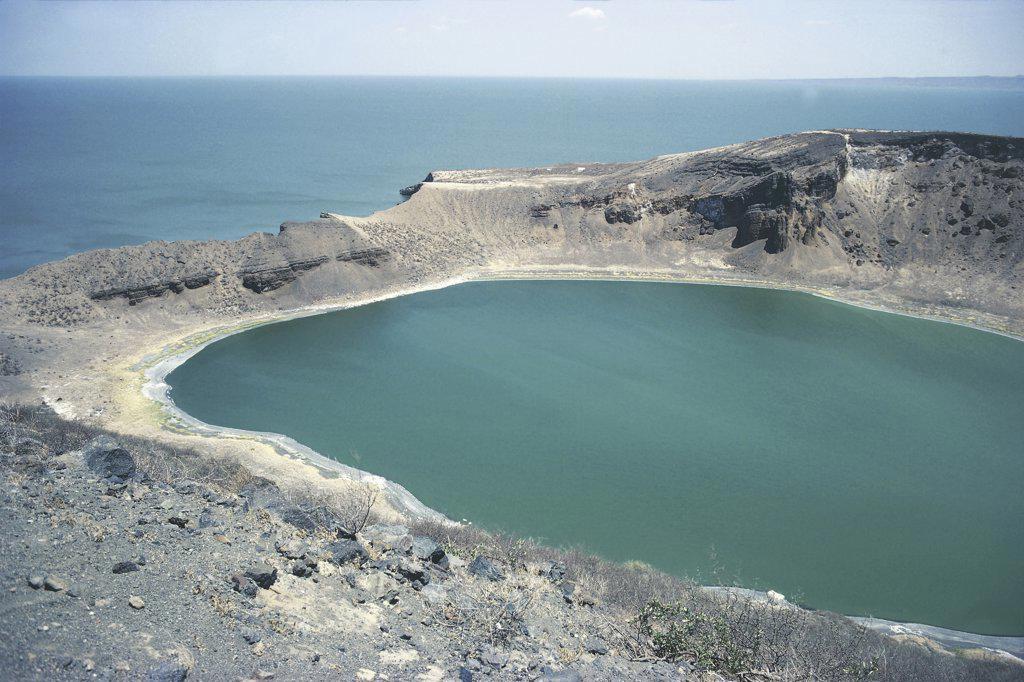 Kenya - Lake Turkana (formerly Lake Rudolph) : Stock Photo