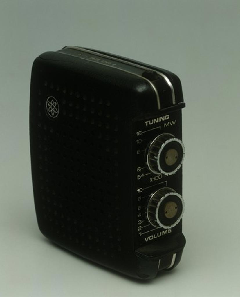 Stock Photo: 1788-40668 United Kingdom, 20th century - Emperor transistor radio, late 1960's.