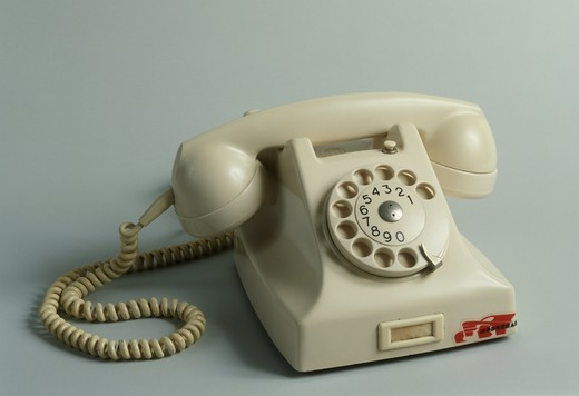 Stock Photo: 1788-40672 France, 20th century - Resin telephone, 1950.