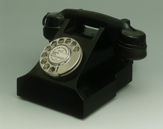 Stock Photo: 1788-40722 Sweden, 20th century - Ericsson DB 1001 telephone, 1931.