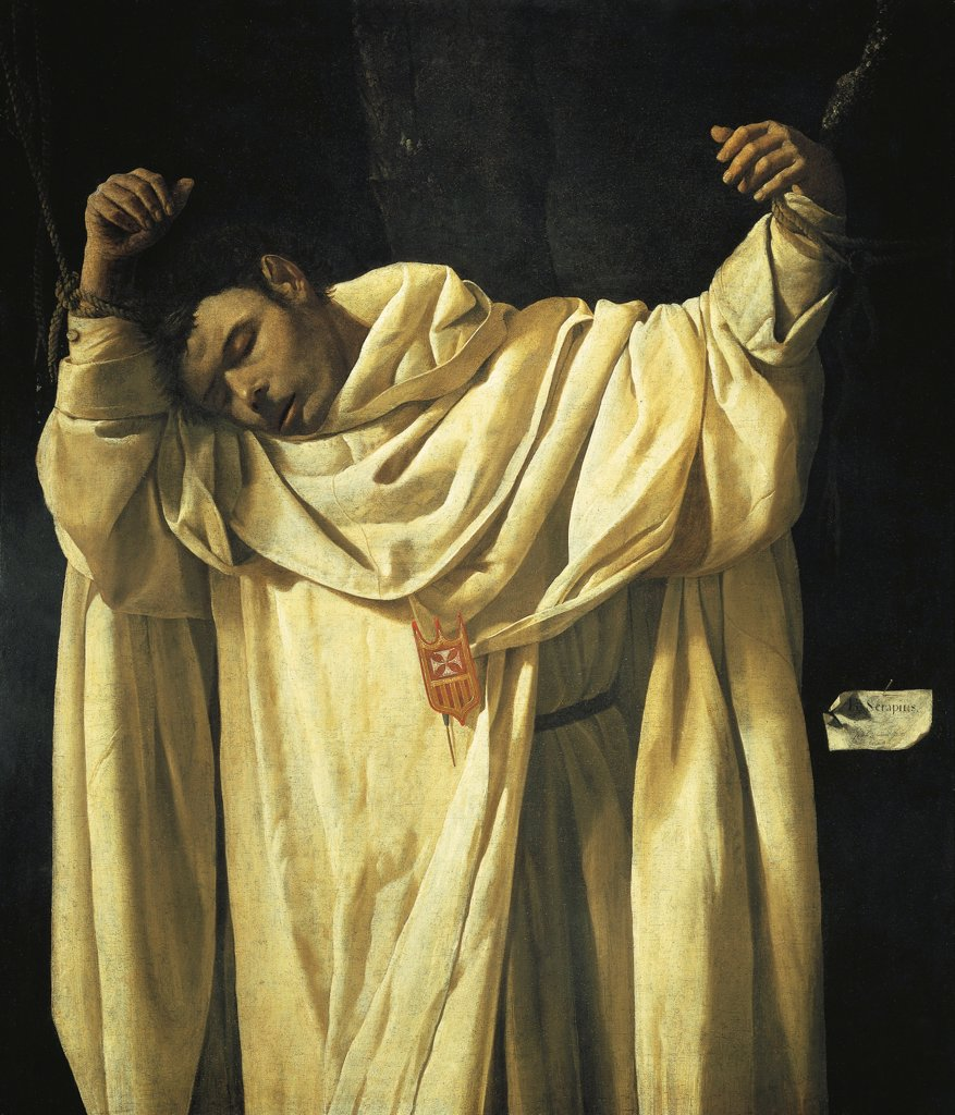 Stock Photo: 1788-42816 The martyrdom of St Serapion, 1628, by Francisco de Zurbaran (1598-1664), oil on canvas.
