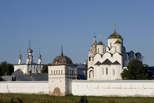 Russia, Suzdal, Convent of Intercession (Pokrovsky Monastyr) : Stock Photo