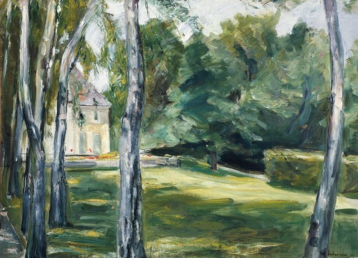 Stock Photo: 1788-45219 A house in the garden, 1923, by Max Liebermann (1847-1935).
